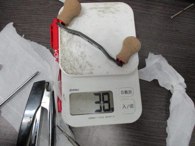 カーボンコルク丸 ノブ 銀 アブ ダイワ シマノ M7の場合:アダプタ必要 カスタムパワー ハンドル ナット別売
