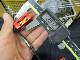 黒スジオフセットハシゴ赤 アブ ダイワ シマノ M7の場合:アダプタ必要 カスタムパワー ハンドル ナット別売 雷魚 カゴ