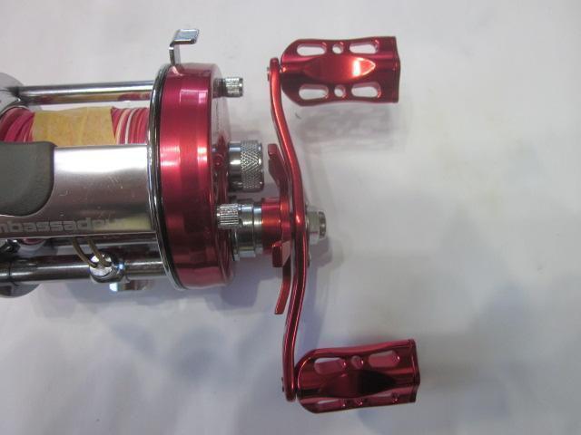 赤オフセット赤メタル 90:3.3mm パワーハンドル