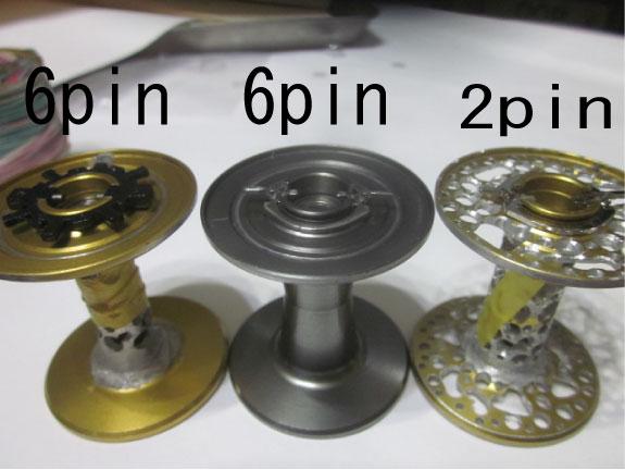 アブ 6点ピニオン用2点遠心キット [#1366399]