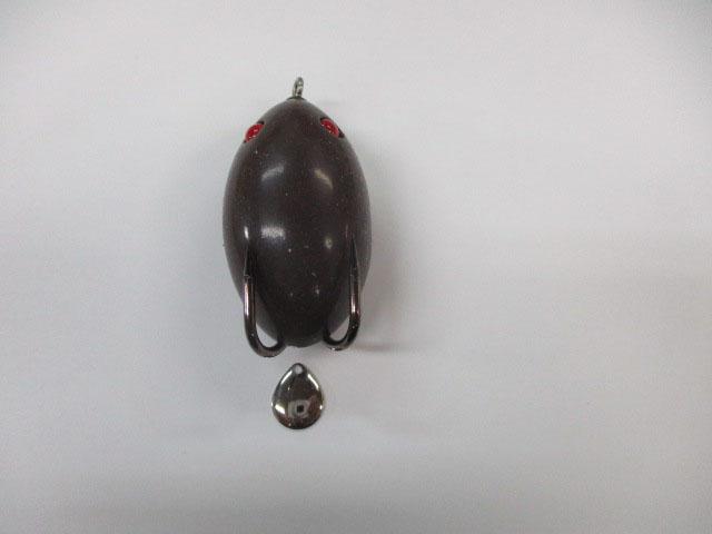 ブレード コロラド 銀 #0 (1個) フロッグ 日本の部品屋さん 雷魚 ライギョ チューニング