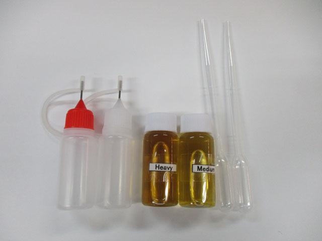 ベストタックル ケミカルチューニング オイル ミディアム&ヘビー各1本 スポイトボトル付セット 各10ml 雷魚 カゴ
