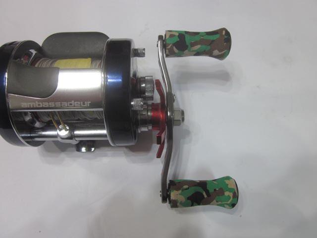 赤オフセット黒エバ 90:3.3mm パワーハンドル