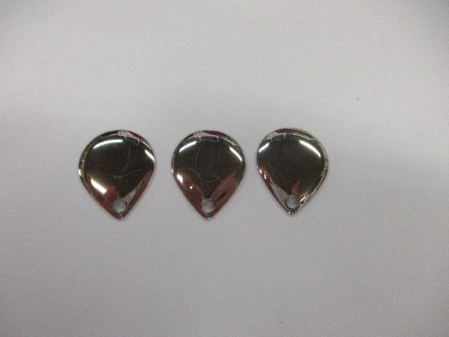 ブレード コロラド 銀 #2 (3個) フロッグ 日本の部品屋さん 雷魚 ライギョ チューニング