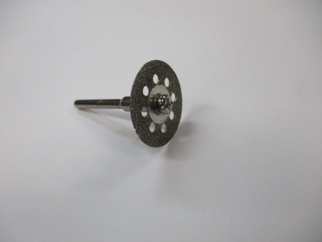 ダイヤモンドカッター 22mm円盤 3mmシャフトセット ルーター用 先端 ビット ロッドビルディング メイキング 雷魚 カゴ