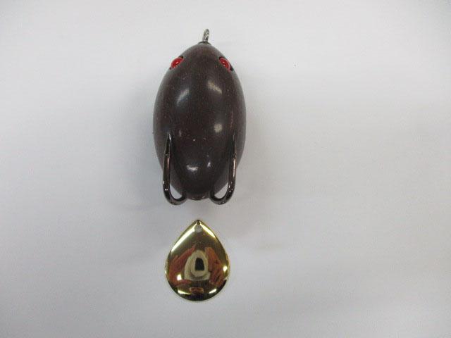 ブレード コロラド 金 #3 (1個) フロッグ 日本の部品屋さん 雷魚 ライギョ チューニング