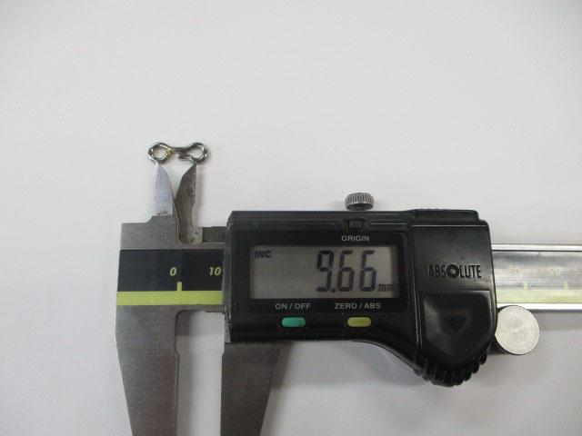 アイ 15mm 5本 ウィップラッシュファクトリー チューニング用アイ 雷魚 ライギョ フロッグ