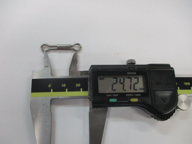 アイ 31mm 5本 ハネダクラフト スライドアイ 雷魚 ライギョ フロッグ チューニング ハネクラ