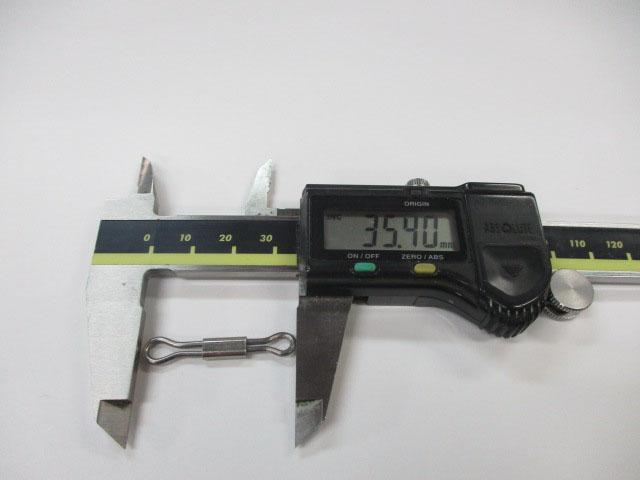 アイ 35mm 5本 ハネダクラフト スライドアイ 雷魚 ライギョ フロッグ チューニング ハネクラ