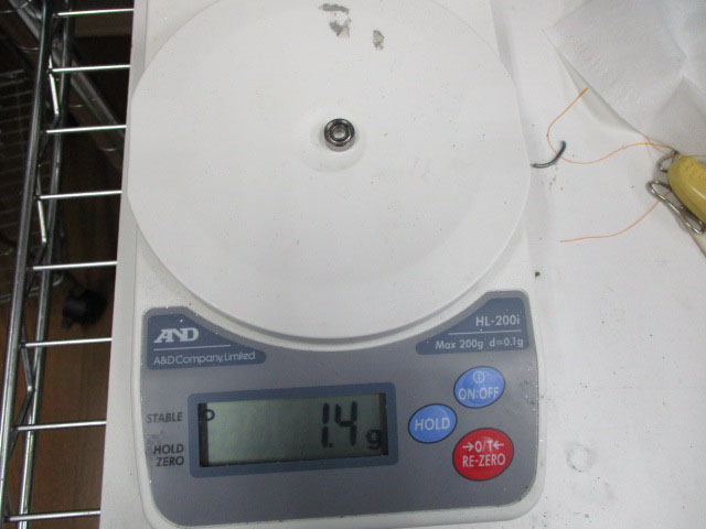 1個 フルセラミック製 1040ZZ 内径4、外径10、幅4mm ベアリング MR104ZZ