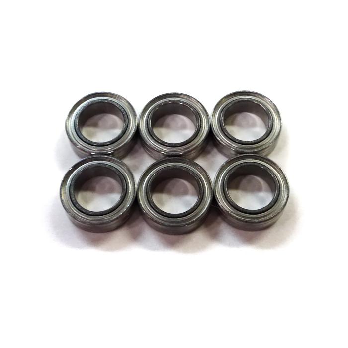 6個 内径5,外径8,幅2.5mm ISC製 高耐食ステン キャストップ ベアリング SMR85A12-H-X1ZZ DDL850ZZ SMR85ZZ