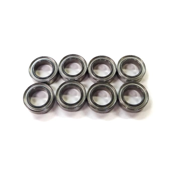 8個 内径5,外径8,幅2.5mm ISC製 高耐食ステン キャストップ ベアリング SMR85A12-H-X1ZZ DDL850ZZ SMR85ZZ