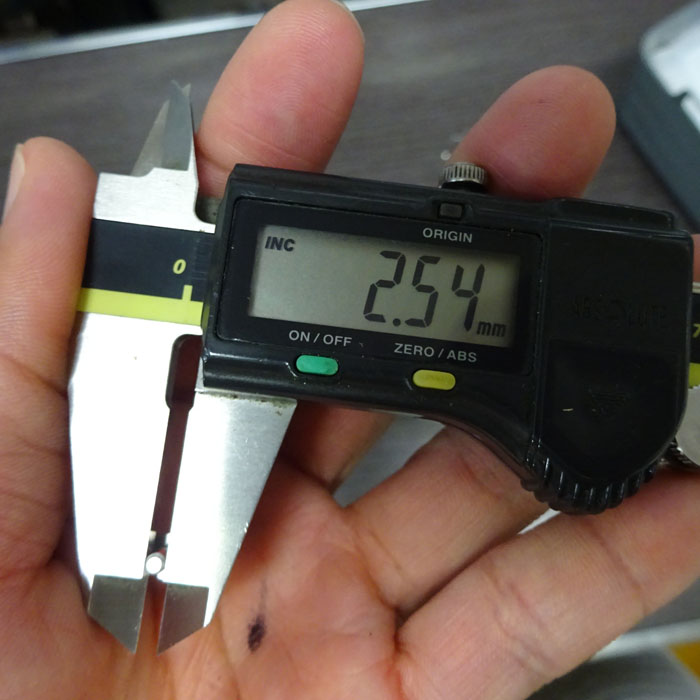 シマノ 純正 ラインローラー 固定ビス アルミ マイナス ネジ止剤付 M2.6-0.45P ステラ バンキッシュ
