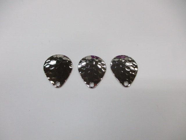 ブレード コロラドハンマード 銀 #2 (3個) フロッグ 日本の部品屋さん 雷魚 ライギョ チューニング