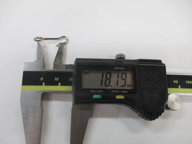 アイ 24mm 3本 ロデオクラフト チューニング用アイ 金具 雷魚 ライギョ フロッグ