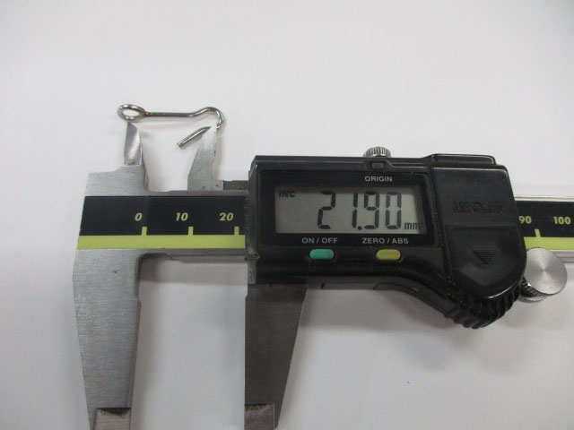 アイ 26mm 3本 ロデオクラフト チューニング用アイ 金具 雷魚 ライギョ フロッグ