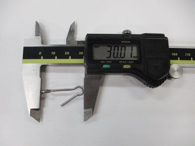 アイ 30mm 3本 ロデオクラフト チューニング用アイ 金具 雷魚 ライギョ フロッグ