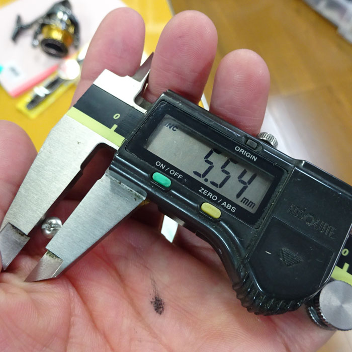 2本 シマノ純正 Aノブ用ビス ネジ止剤付 ダイワSノブ共用 M2.6-0.45P ステラ ツインパワー バンキッシュ