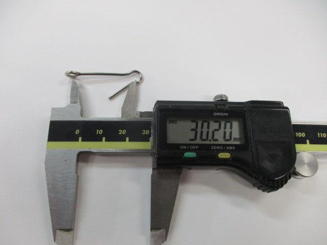 アイ 36mm 3本 ロデオクラフト チューニング用アイ 金具 雷魚 ライギョ フロッグ