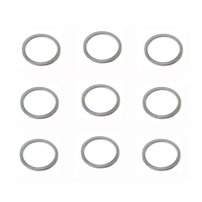 シム 10-12-0.1,0.2,0.3 ステン各3枚 シマノ ダイワ 向け