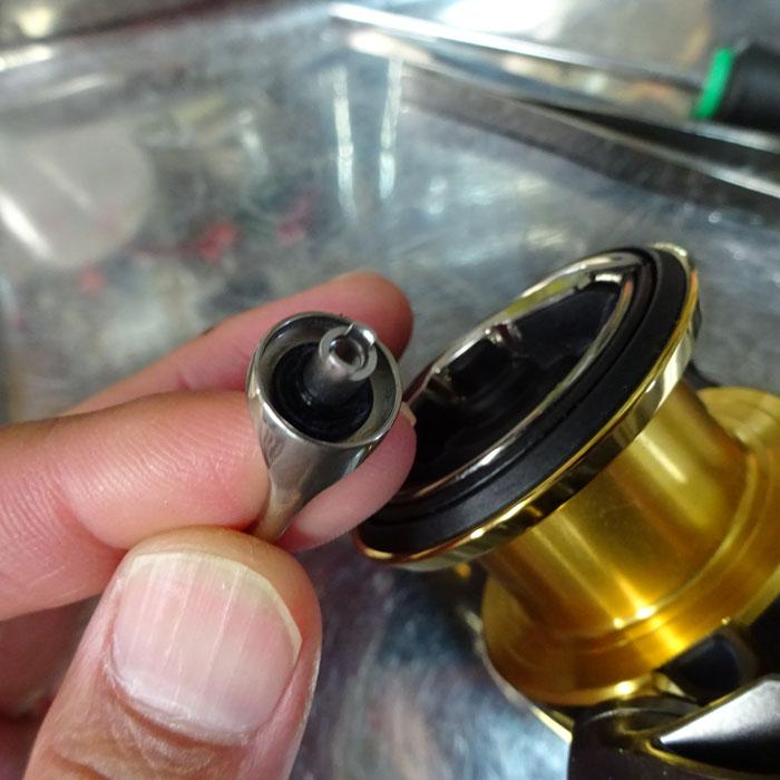 2個 フランジ型樹脂シム 4-5/7.6-1.2/0.9 コアプロテクト18規格用 シマノ純正 ステラ バンキッシュ