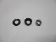 市販風キットA1 ダイワ4mm ラインローラー 2BB ベアリング化キット [黒カラー,DDL740,パッキン]12ルビアス・10セルテート・07ルビアス