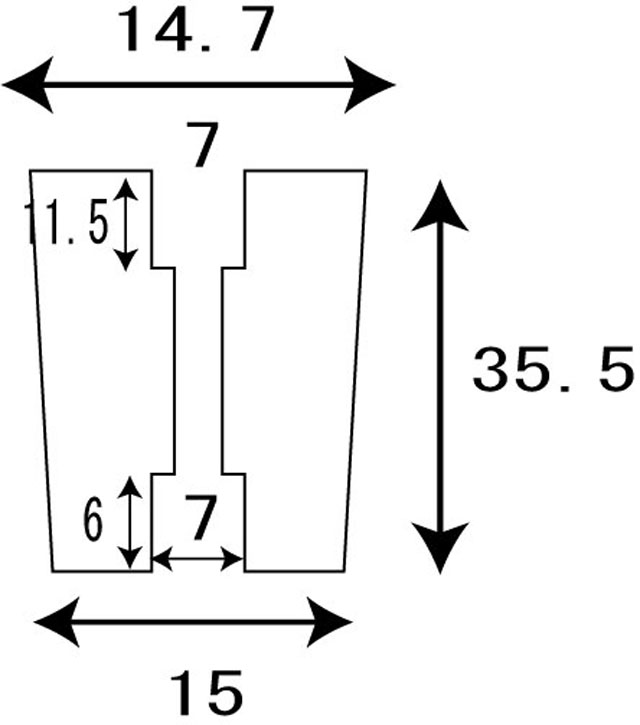 [1個][筒ノブメタル][銀金] パワーハンドルノブ 雷魚かごジギング ダイワ/シマノ向け 汎用4mmタイプ