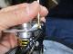 市販風キットB ダイワ4mm ラインローラー 2BB ベアリング化キット [白カラー,DDL740,パッキン,シム]18カルディア・18タトゥーラ・17セオリー・16EM MS・15ルビアス