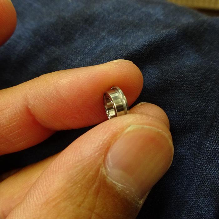 1個 フランジ部 外径9.2/幅0.6 DDLF850ZZ NMB ミネベア製 内径5 外径8 幅2.5  ステンレス ベアリング ラインローラー