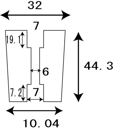 [32mm中] オーロラ パワーハンドルノブ 雷魚かごジギング ダイワ/シマノ向け 汎用4mmタイプ