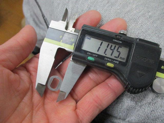 ハンドル 調整 ワッシャー ステン製 8×5穴 厚み0.5mm アブ ダイワ シマノ300,400要確認 向け ドライブシャフトシム