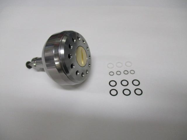 [38mm大] 銀銀 パワーハンドルノブ
