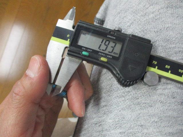 目盛無 青ブルー AMO製 ベアリング チェッカー チェック アブ/ダイワ/シマノ 雷魚 カゴ ジギング リール カスタム 6500