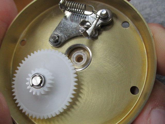 ギア+4-6-0.1樹脂シム6枚 ダブルベアリング フルセラミック コグホイール #23404 雷魚 カゴ アブ 6500