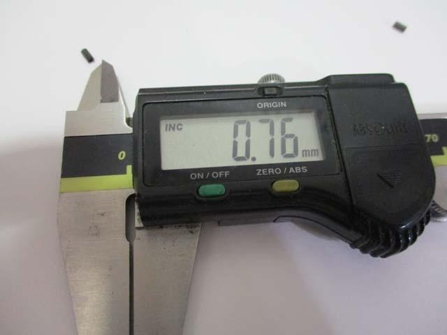 アブ [アベイル極小 2個] 2500C用 遠心 ブレーキブロック #10267互換 要加工4600,5500,6500もOK 雷魚カゴ
