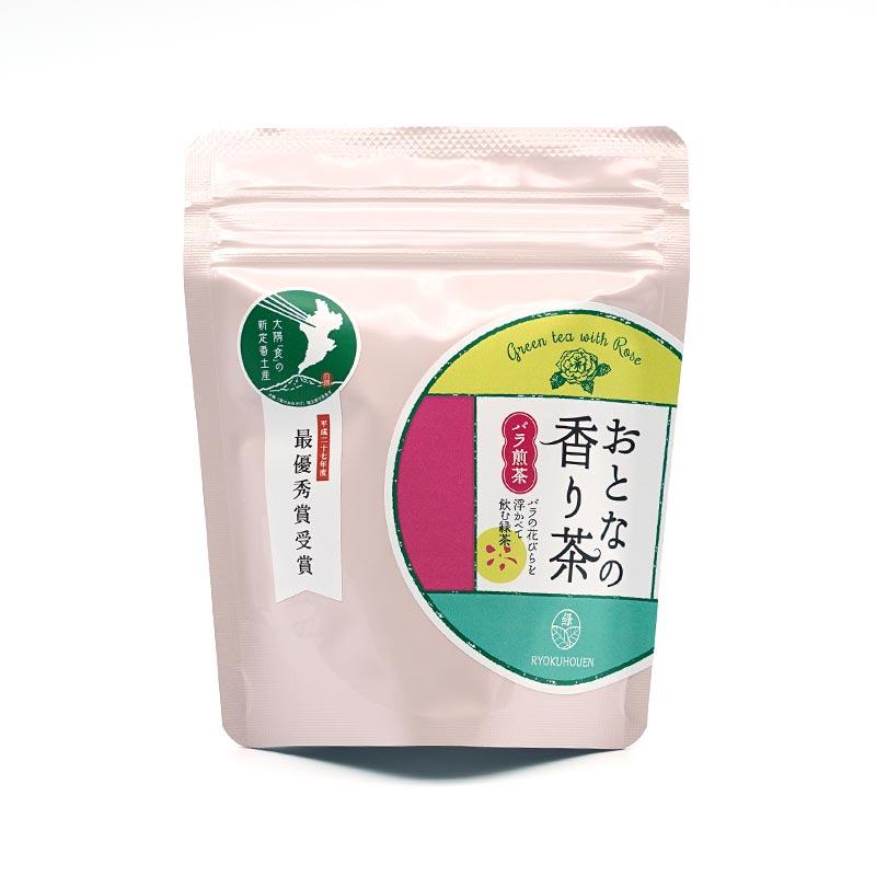 お茶の緑峰園 大人の香り茶 バラ煎茶 6グラム