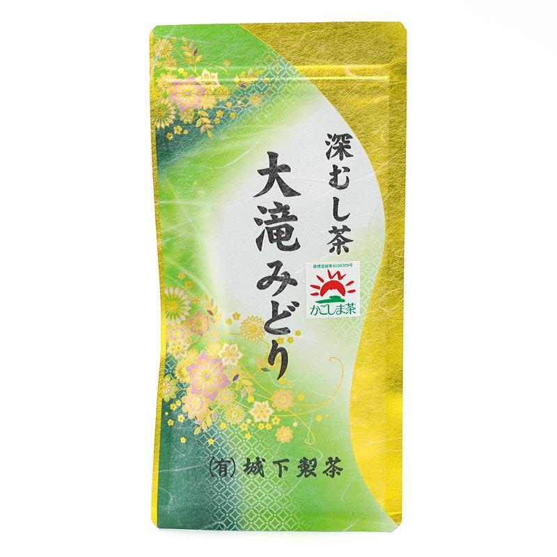 【令和3年 新茶】城下製茶 大滝みどり グリーン 100グラム