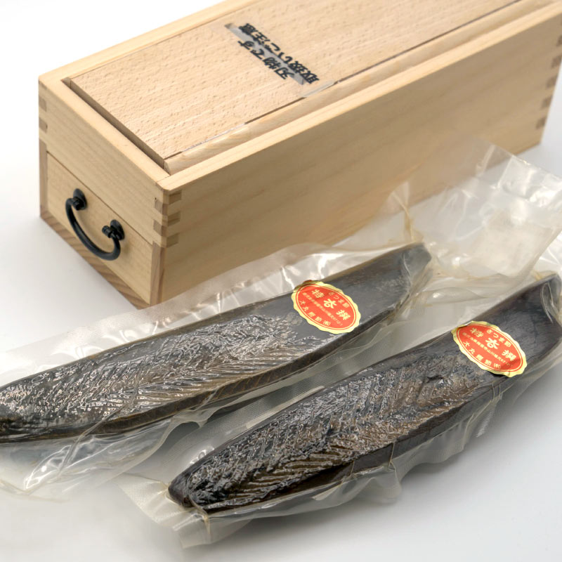 指宿山川 裸本節(真空) 2本 鰹節削り器セット