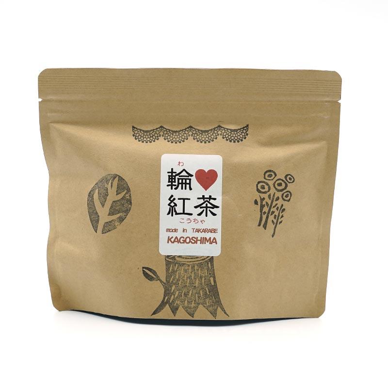 橋口製茶 輪 紅茶 100グラム