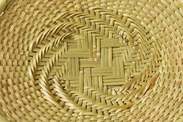 青竹 蕎麦ざる(戸隠風)<br>直径約27cm