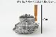 ディスプレイ用 石臼<br>(約)直径19cm(上石12cm)×高さ21cm<br>(約)重さ4kg<br>素材:御影石 天然木