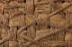 喜一作<br>1点もの<br>太ひごのやまぶどう籠<br>(国産/市松×みだれ編み/横長/中サイズ/柿渋染ふた・内布・ポケット)<br>(約)幅34×マチ10.5×本体高さ22.5cm<br>(約)560g