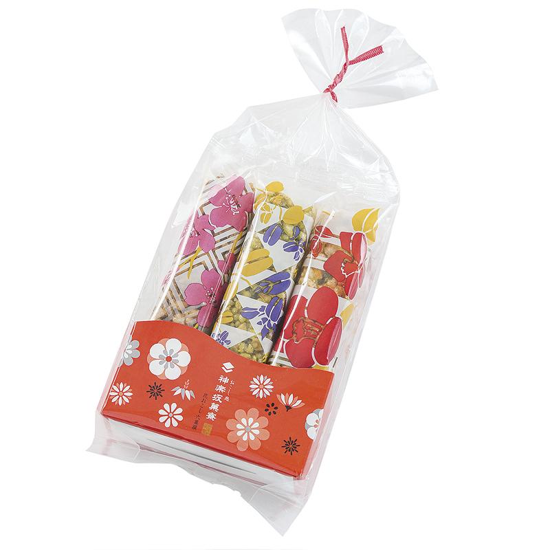 R3700 花おこし 六菓撰 袋タイプ 6個入