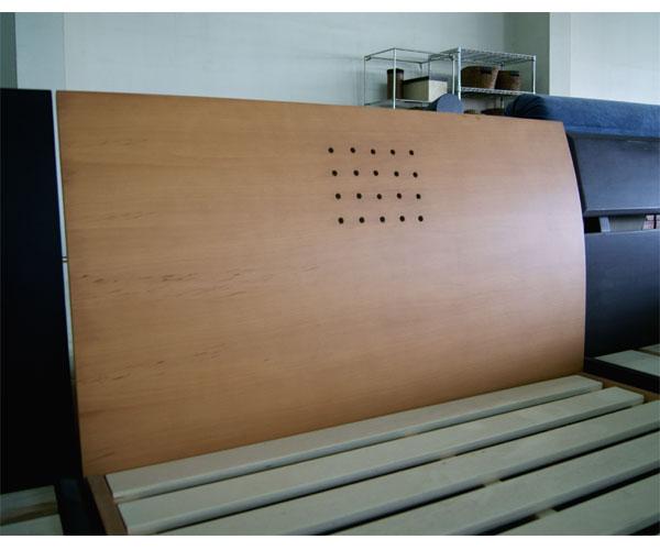 ダブルベッド すのこベッド ベッドフレーム ナチュラル/フレーム ダブル シンプルデザイン