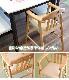 チェア ベビーチェア 子供 キッズ 子供用椅子 木製 ベビーチェアー ダークブラウン ナチュラル 送料無料