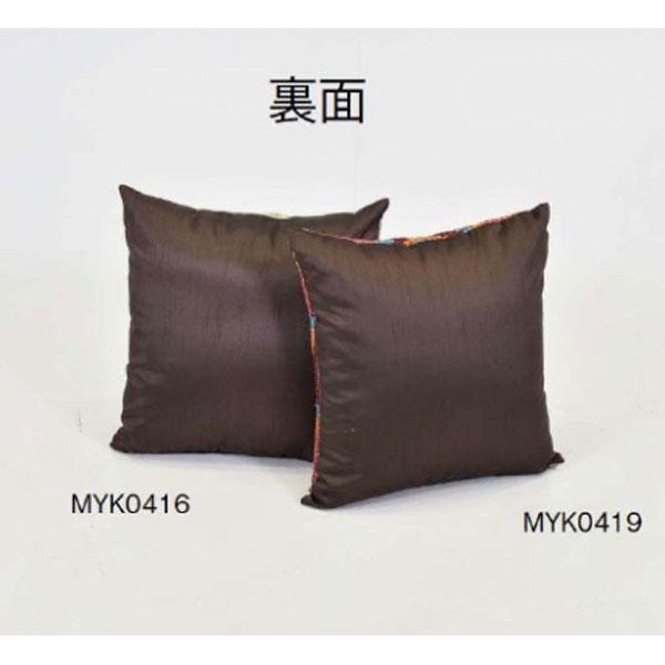 クッション単品2種類 おしゃれソファクッション  正方形高級テキスタイルシンプル モダン  51×51cm myk0416-0419