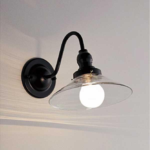 昭和レトロ照明  透明ガラス  ブラケットライト壁面照明 ランプ別 ERB6318CB