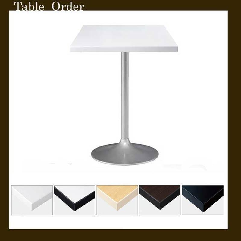 カフェテーブルコーヒーホワイトテーブル・45cm〜50cm正方形業務用家具店舗用家具 tp26b-ft1