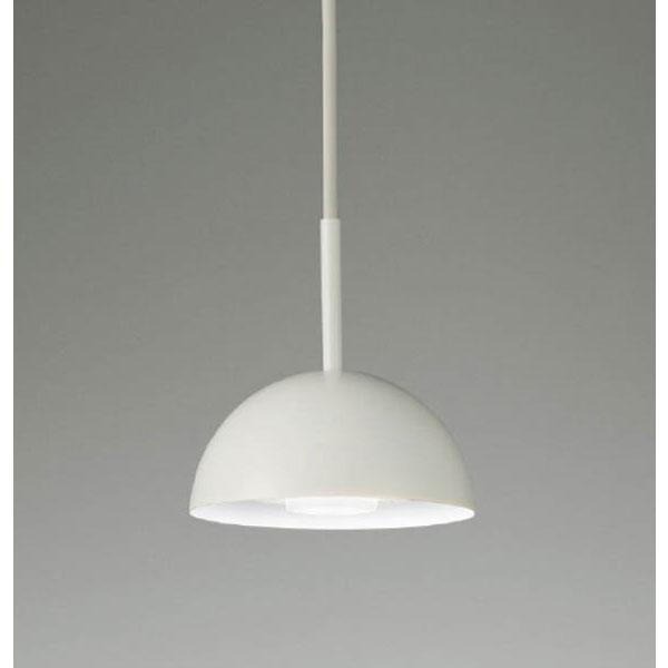 モダンペンダントランプ照明器具マットホワイト半円形13.5cm LEDランプ照明 erp7023w