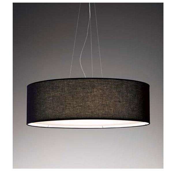 和風天井照明器具ナチュラルモダンペンダント 照明ランプ 直径90cmブラックLEDランプ  ERP7196BB
